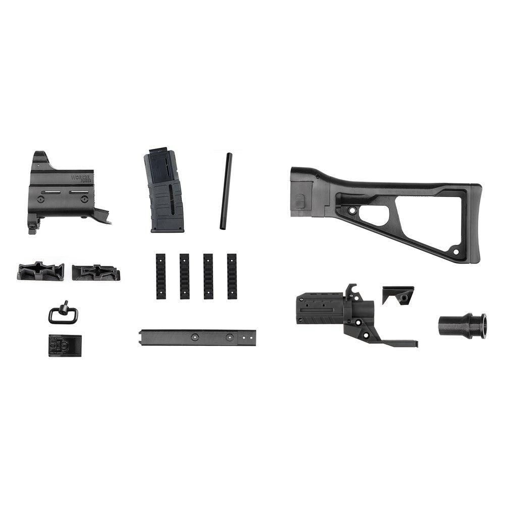 Ouvrier F10555 UMP9 fusil Imitation Kit impression 3D haute résistance Combo pour Stryfe modifier jouet pour Nerf pièces bricolage jouets pistolet cadeau - 2