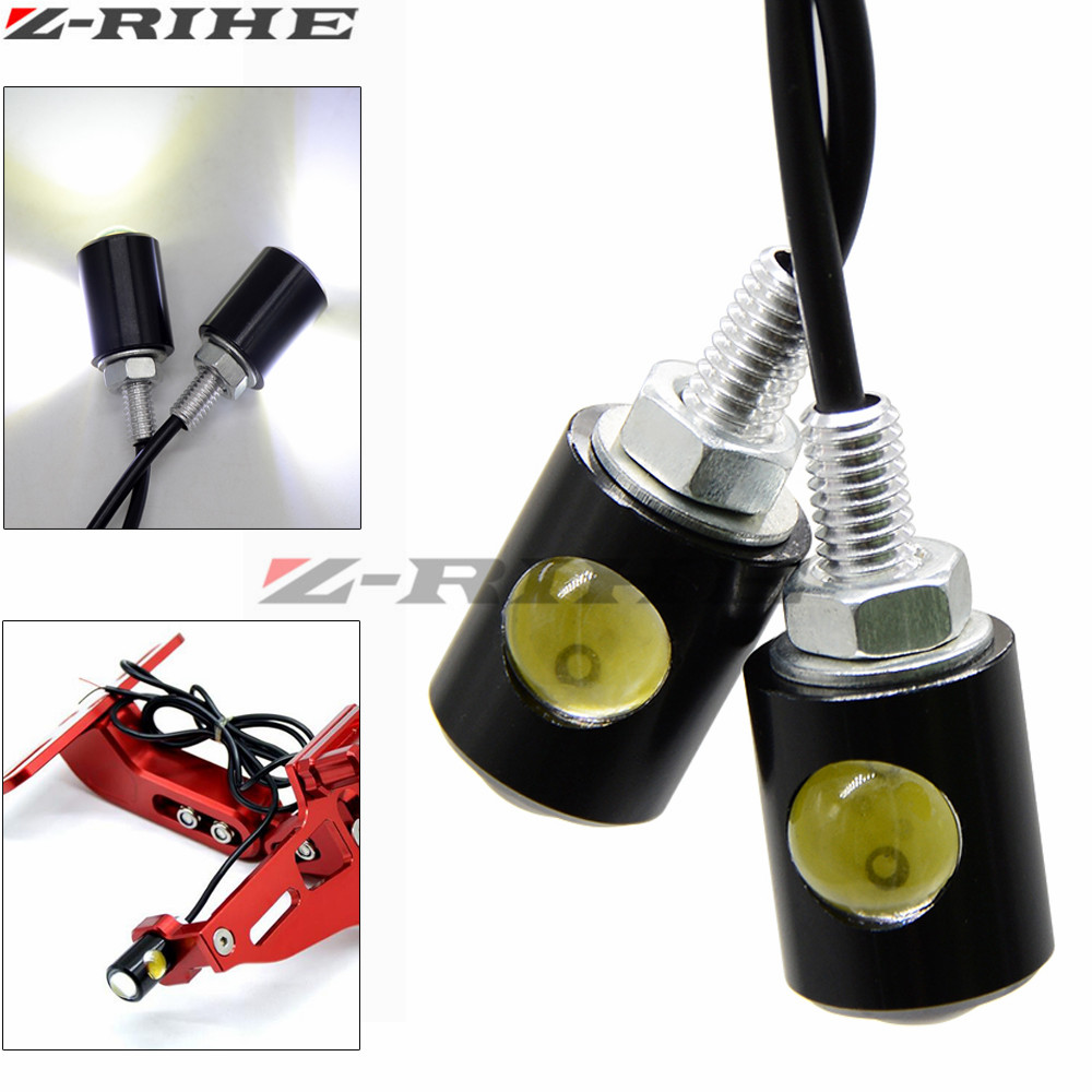 Universal Motorcycle Turn Signals LED Turn Signal Light Motorbike Indicators Flashers Blinkers For Honda Kawasaki Ducati Yamaha