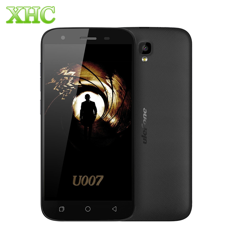 Ulefone U007 3G WCDMA Smartphone 1GB 8GB 5 0 inch Android 6 0 Cellphone MTK6580A Quad