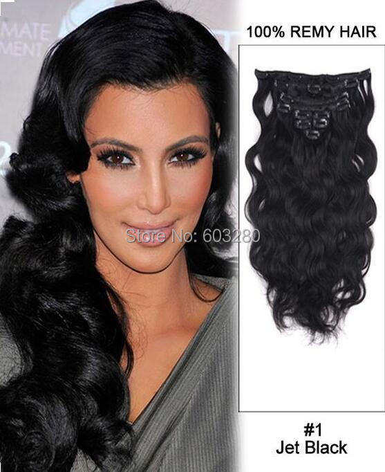 Aliexpress Uk Wet And Wavy Human Hair Clip In Human Hair Extensions