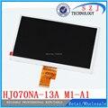 Original 7 ''polegadas tablet pc HJ070NA-13A M1-A1 para A500 A100, 1024*600 LVDS lcd visor do painel de tela Frete grátis