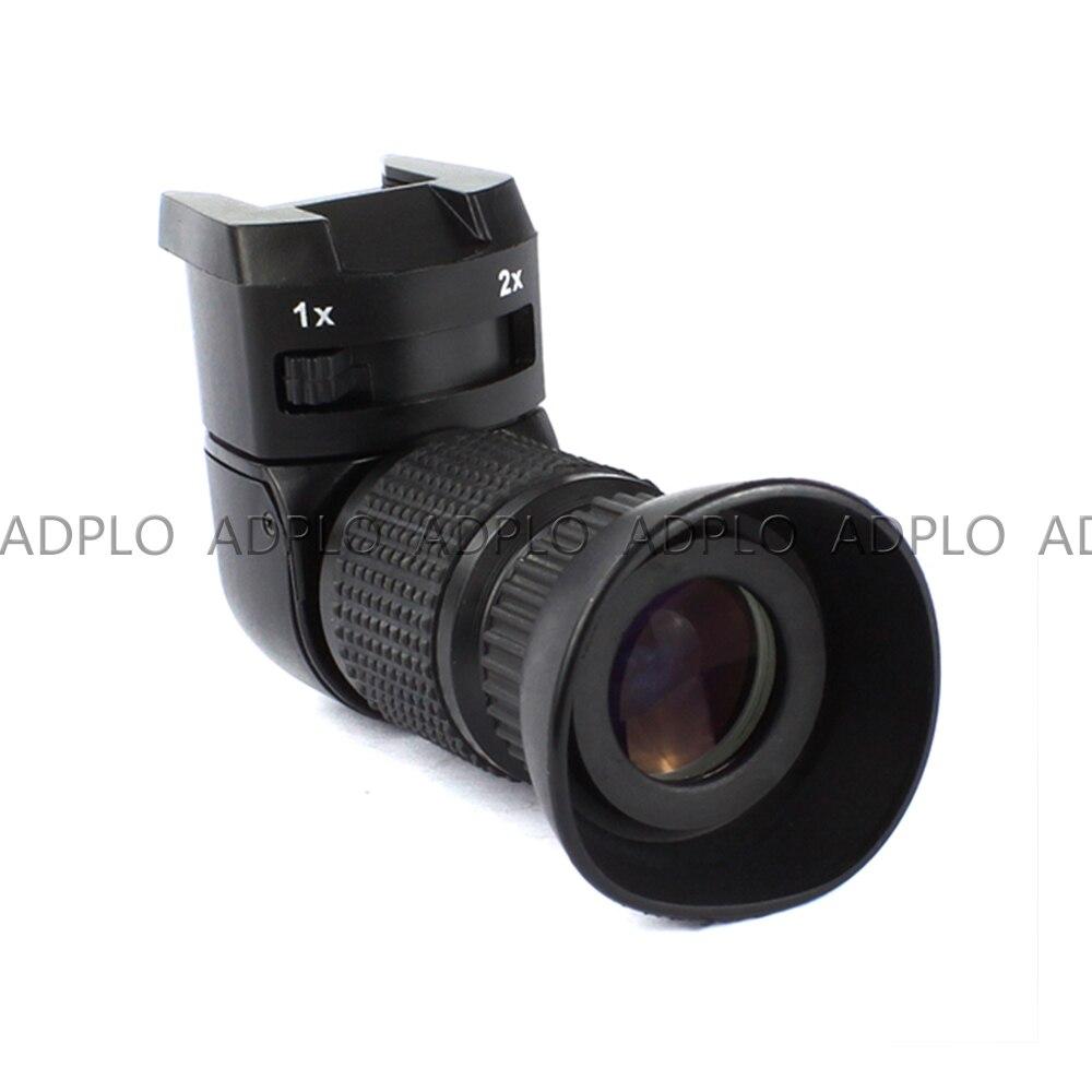 Pixco 1-2.0x détecteur à Angle droit pour Canon pour Sony pour Pentax pour Fujifilm 1x-2x viseur à angle droit - 4