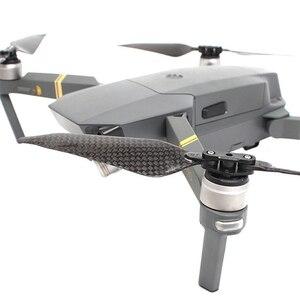 Image 3 - Carbon Fiber Propellers For DJI Mavic Pro Platinum Drone Quick Release Enhanced Blade Folding Propeller Prop for DJI Mavic Pro