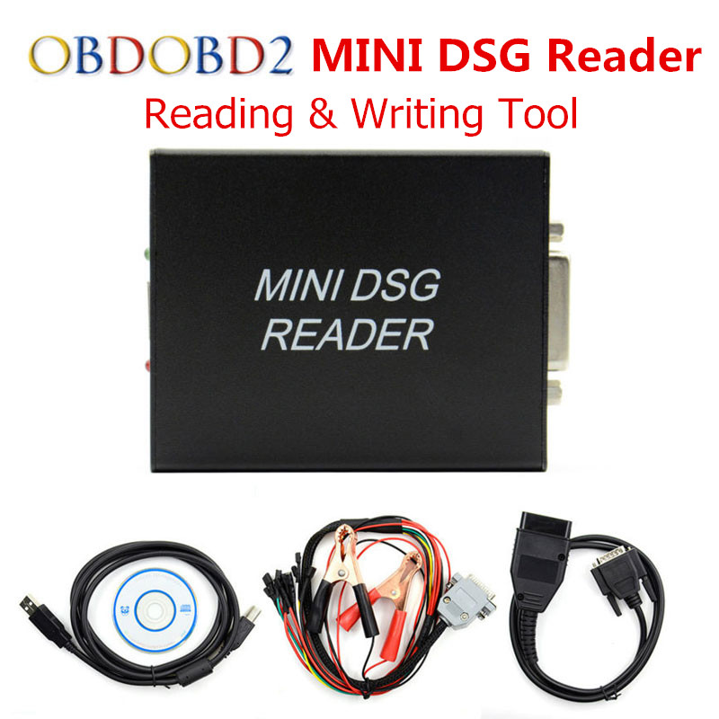 Best Quality MINI DSG Reader DQ200 + DQ250 New Release DSG Gearbox Data Reading/ Writing Tool For VW/AUDI Free Shipping best price mgehr1212 2 slot cutter external grooving tool holder turning tool no insert hot sale brand new