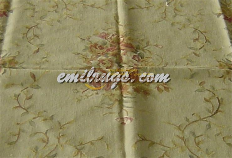 Hand Knitted Carpets Vintage Carpets For Living Room Square Rug Aubusson Carpet Natural Sheep WoolHand Knitted Carpets Vintage Carpets For Living Room Square Rug Aubusson Carpet Natural Sheep Wool