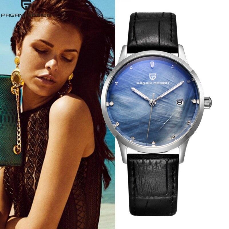 Pagani femmes montres Bracelet montres Bracelet étanche militaire genève Quartz horloge 2017 robe montres Relogio Feminino xfcs