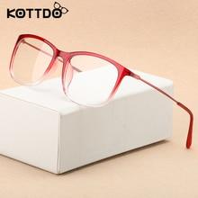 KOTTDO Fashion Ultra-light Eyewear Men Glasses spectacle Women transparent Frames Optical Vintage Clear Retro Eyeglasses Oculos