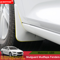 QCBXYYXH Car Mudguard Fender Mud Flaps Sedan Mudflaps Splash Guards Mud Flap For Buick Regal Opel