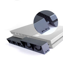Controlador de cargador de muelle de soporte vertical de enfriamiento del usb super turbo 5 ventilador de refrigeración para sony ps4 consola playstation 4