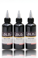 3PCS100 ML Bottle Airbrush Ink Black Red Blue Tattoo Color For Body Paint Temporary Tattoo Ink
