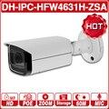 DH IPC-HFW4631H-ZSA 6MP ip-камера 2,7 ~ 13,5 мм 5X Увеличение Обновление от IPC-HFW4431R-Z Встроенный микрофон слот для sd-карты PoE камера с логотипом
