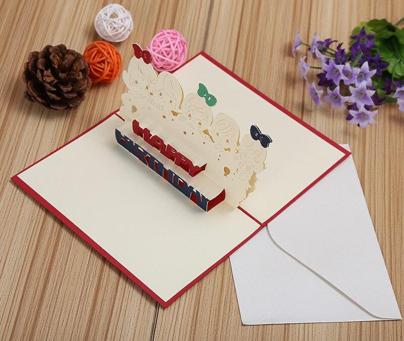 18 75 5 De Descuento Fabricantes Que Venden Tarjetas De Cumpleaños Para Niños Creativas Estéreo Para Niños Tarjetas De Bricolaje Se Pueden