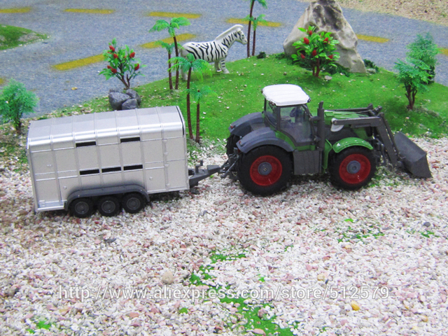 Big Electric Digger Big  Multifunctional RC trailer tractor truck free shipping Rc Excavator Toy
