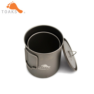 Image 3 - TOAKS Titanium 750ml Pot and 450ml Cup Combo Set POT 750 & CUP 450