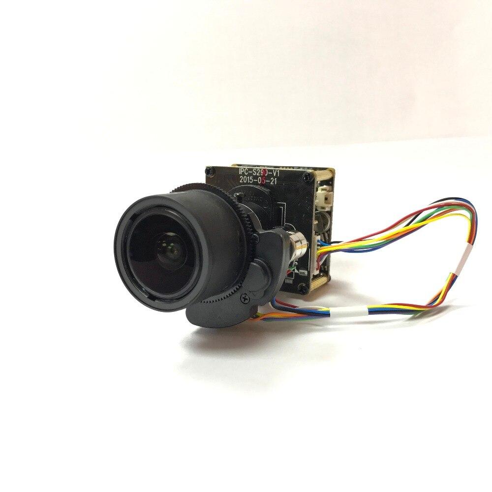 Starlight 3MP WIFI IP Camera Module Low Light Sony IMX124 CMOS Board Camera with 2 7