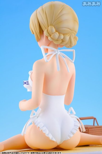 Anime Girls und Panzer Darjeeling Wave Beach Queens sexy Action Figure PVC Collection Model toys for christmas gift