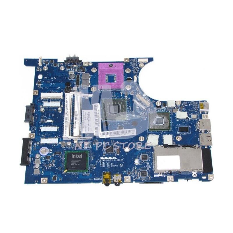 For Lenovo ideapad Y550 Laptop Motherboard KIWB1 LA-4602P GM45 DDR3 Free cpu GeForce GT240M Video Card da0lz1mb6e0 for lenovo ideapad z380 laptop motherboard with nvidia geforce gt610m video card