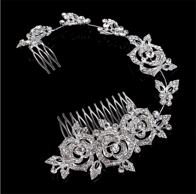 Modabelle Bridal Wedding Comb 2018 New Arrival Sparkly Shiny Wedding Accessories Rhinestones