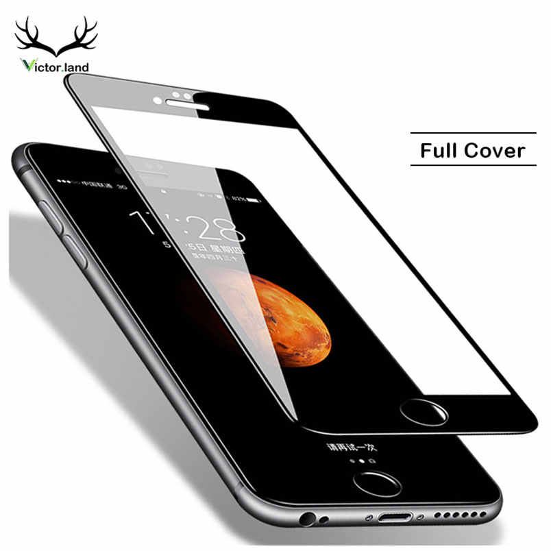 For iPhone 11 11R Pro Xs Max XR 8 X 10 5 5s 5c SE 6 6s plus 7 Screen Protector 9H Full Cover Tempered Glass Film Case Phone