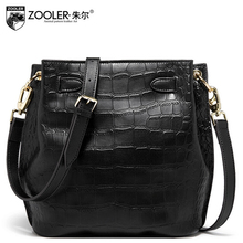 2015 New zooler women genuine leather bag brands fashion Serpentine  quality women shoulder messenger Cowhide small bag