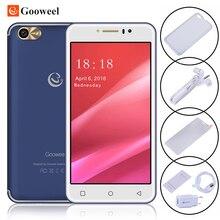 Оригинал gooweel m7 3 г мобильный телефон 5.5 дюймов ips экран mtk6580 quad core смартфон GPS 1 ГБ RAM 8 ГБ ROM WCDMA Сотовый телефон 8.0MP