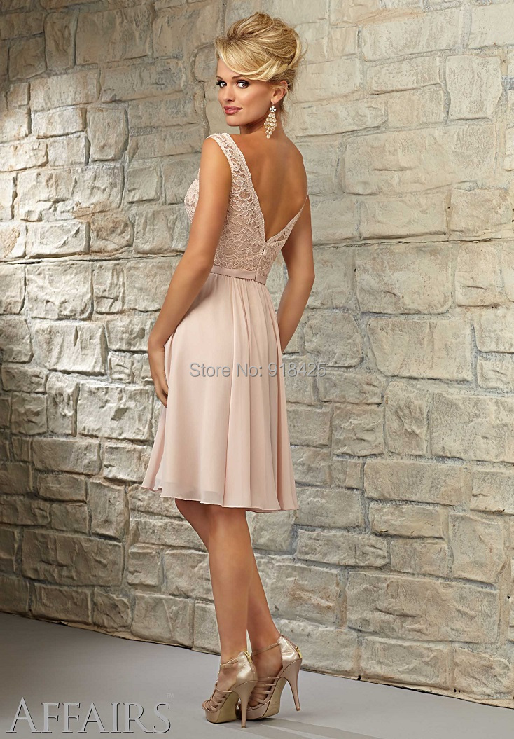 Kleid spitze nude