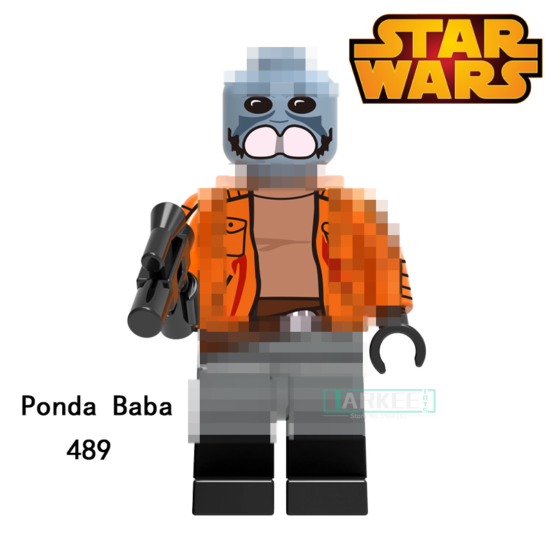 Building Blocks Ponda Baba Zander Clone Trooper Cunner Super Heroes Star Wars Bricks Dolls Kids DIY Toys Hobbies XH489 Figures