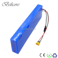 EU US no tax OEM small size lithium battery pack 36v 11.6ah with charger for 250W 500W electric bicycle+Free shipping
