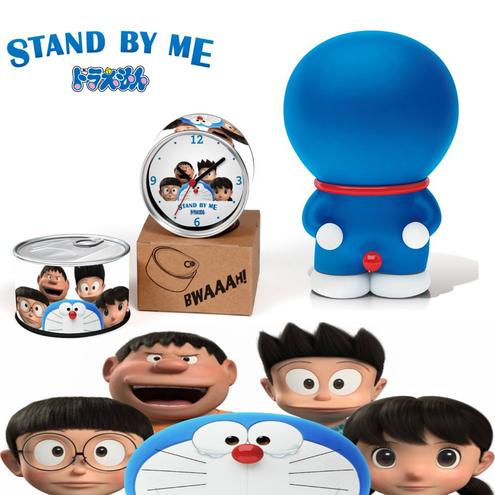 Doraemon Clock Stand By Me Japan Made 3D Movie Clock