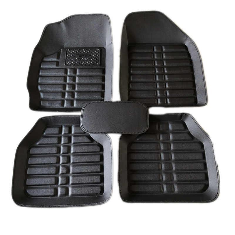Tapis de sol de voiture pour MINI Cooper R50 R52 R53 R56 R57 R58 F55 F56 F57 Countryman R60 F60 accessoires de voiture style tapis de voiture Simple