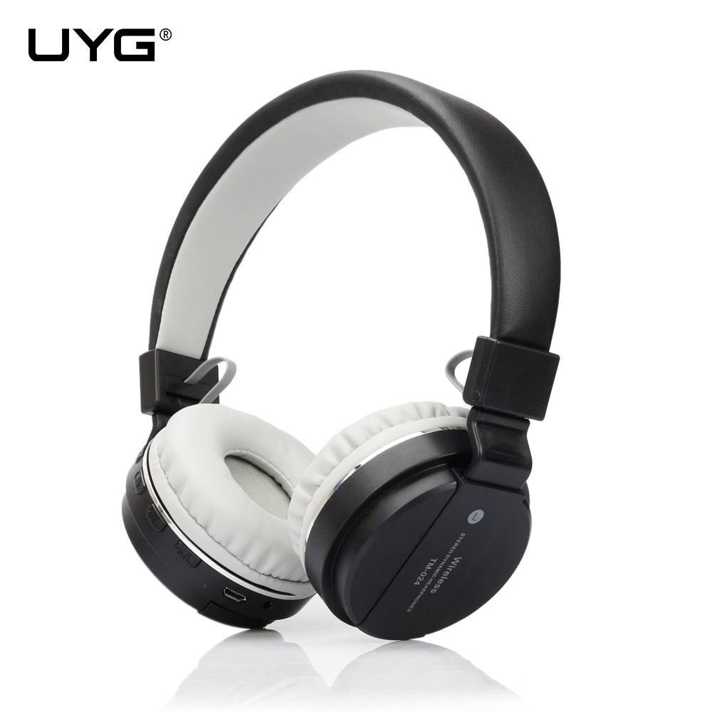 UYG bluetooth headphone wireless headset head phones sport handsfree headphones with microphone Support TF Card FM Radio super bass audio stereo wireless bluetooth headphones headset handsfree with micphone support tf card fm radio headphone headset