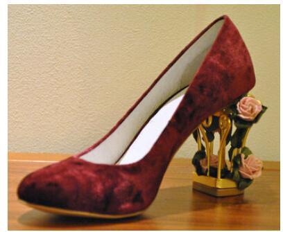 2016 Summer Romantic Cut-Outs Fretwork Heels Dress Pumps Women Birdcage High Heel Shoes Gorgeous Flowers Decorated Wedding Shoes женское платье summer dress 2015cute o women dress