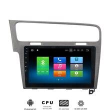 1 din Android 8,0 автомобиль радио для VW ГОЛЬФ 7 2013 2014 2015 2016 2017 автомобильный мультимедийный плеер с Octa core 4 Гб + 32 поддерживает DAB