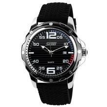 Famous Brand SKMEI Sport Jelly Quartz Men Casual Watch Calendar Date Work For Lu