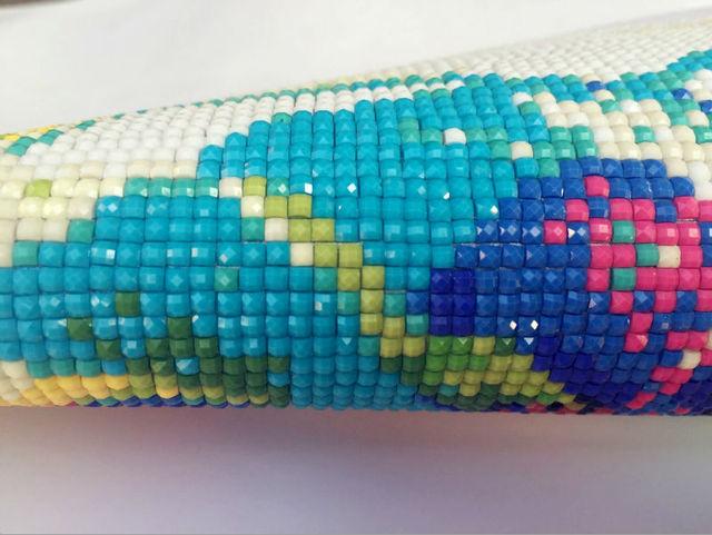 YUMEART-Cabochon mosaïque en diamant 3D | Broderies, Cabochon de mosaïque fait à la main, peinture diamant Lion décoration de la maison, Kits de point de croix