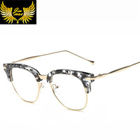 New Arrival TR90 Retro Women Style Eye Glasses 2016 Quality Fashion Style Square Shape Optical Frame