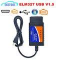 Автомобильный диагностический кабель ELM327 USB V1.5  интерфейс USB  поддержка всех протоколов OBD2 для Windows ELM 327  USB OBD сканер