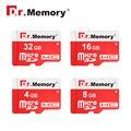 Dr. memory cartão micro sd de alta qualidade 4 gb 8 gb classe 6 16 gb 32 gb TF Cartão de classe 10 Frete Grátis New Design red Cartão de Memória vara