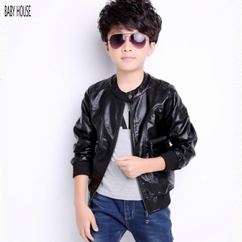Boys Leather Jacket | Outdoor Jacket