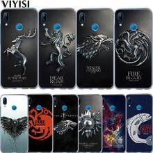 цена Game Thrones Daenerys Dragon Jon Snow Tyrion Lannister Etui For Huawei P30 Pro P20 Lite Case Mate 20 lite Pro 9  P10 Lite Coque