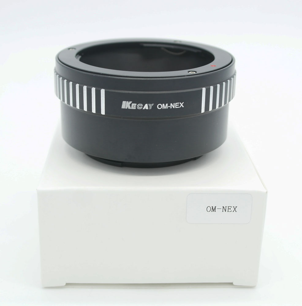 Kecay Lens Adapter Anneau OM-NEX pour Olympus OM Monture Pour SONY NEX E Mont Caméra EOS-NEX Adaptateur Anneau NEX-7 NEX-5 NEX-3