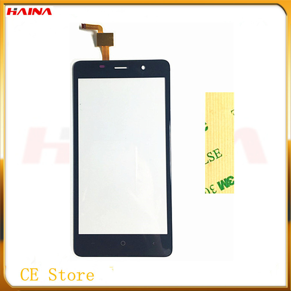 5.7 inch Front Glass Sensor Phone Touchscreen For LEAGOO M8 Touch Screen Digitizer Panel For LEAGOO M8 Free Shipping 3M tape