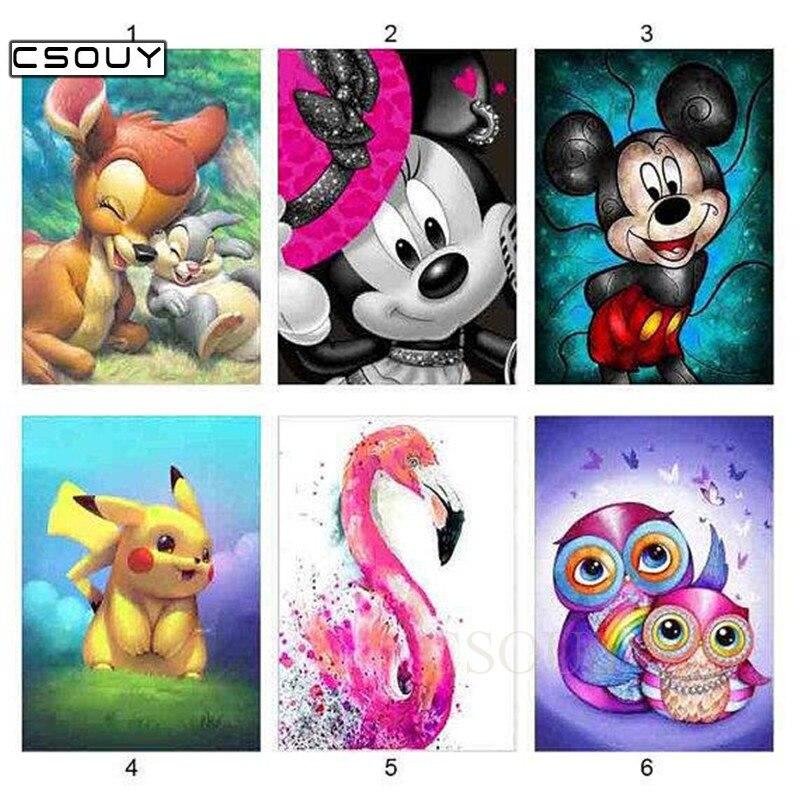 5D Diy Diamond Hímzés Játszós kis állatok Gyémánt festés - Művészet, kézművesség és varrás