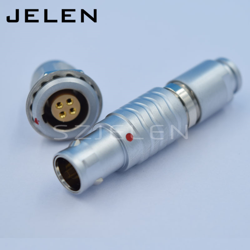 LEMO 4 pin cnnectors, FGG.1B.304.CLAD**Z/EGG.1B.304.CLL,4pin connector plug socket,Cable Power Wire Multi-pin connector  цены