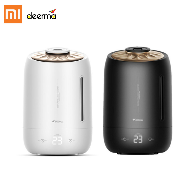 Xiaomi Deerma F600 Air Humidifier Ultrasonic Aroma Mist Maker Touch Screen 12 Hours Timing DiffuserXiaomi Deerma F600 Air Humidifier Ultrasonic Aroma Mist Maker Touch Screen 12 Hours Timing Diffuser