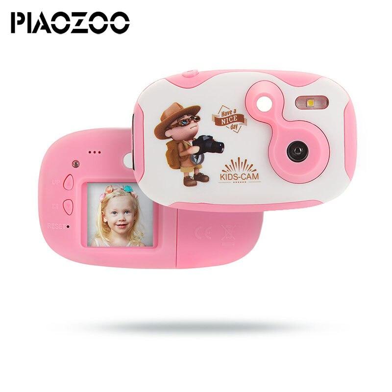 De los niños juguetes educativos niño foto Cámara niños juguete mini cámara con correa de cuello fotografía regalos para arriba 3 año edad P20