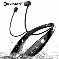 Wireless Foldable Stereo Sport Bluetooth Headset Auriculares Wireless Headphone Hands Free Luminous Earphone For Phone KAYIMAN