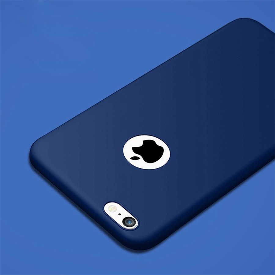高級高品質の Tpu ケース 7 ケース 5 4s 6 s プラス 5 SE ソフトシリコン iPhone 6 ケースプラスキャンディカバー電話ケース
