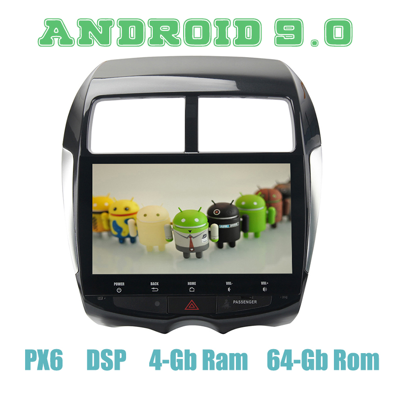 PX6 10.2 Android 9.0 Car GPS Radio Player for Mitsubishi ASX Peugeot 4008 C4 with DSP 4+64GB Auto Stereo Multimedia HeadunitPX6 10.2 Android 9.0 Car GPS Radio Player for Mitsubishi ASX Peugeot 4008 C4 with DSP 4+64GB Auto Stereo Multimedia Headunit