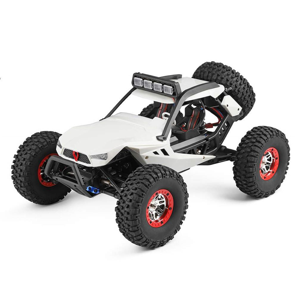 Wltoys 12429 4WD 1/12 Electric Climbing High-speed Off-road Vehicle Simulation Car Remote Car image
